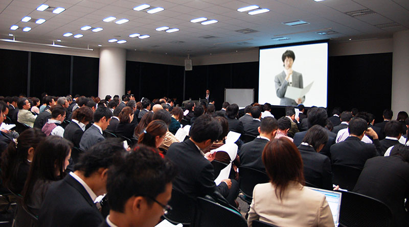 大規模会議向けテレビ会議